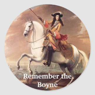 King Billy, Remember the Boyne Round Sticker