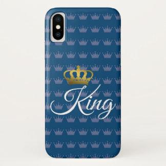 KING BLUE CASE FOR I PHONE