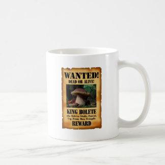 King Bolete - Wanted Dead or Alive Mug