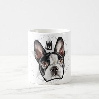 King Boston Terrier Coffee Mug