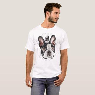 King Boston Terrier Mens T-Shirt