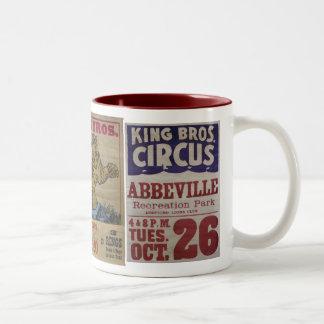 King Bros. Circus Mugs