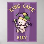 King Cake Baby Poster
