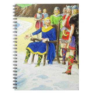 King Canute (c.995-1035) from 'Peeps into the Past Notebooks