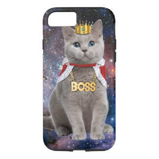 king cat in the space iPhone 8/7 case