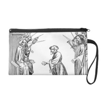 King Charlemagne (742-814) receiving the Oath of F Wristlet Clutch