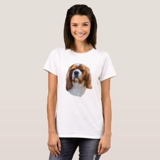 King Charles Cavalier Spaniel Dog Face, T-Shirt