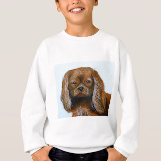 King Charles Cavalier Spaniel red Sweatshirt