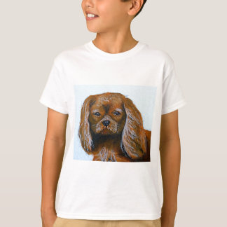 King Charles Cavalier Spaniel red T-Shirt