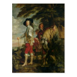 King Charles I  of England out Hunting, c.1635 Postcards