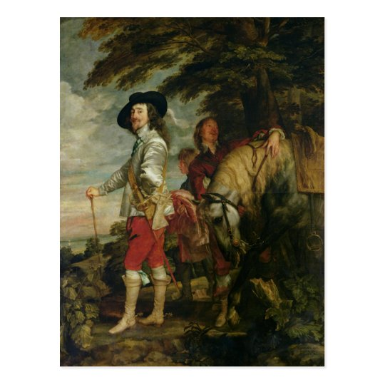 King Charles I of England out Hunting, c.1635