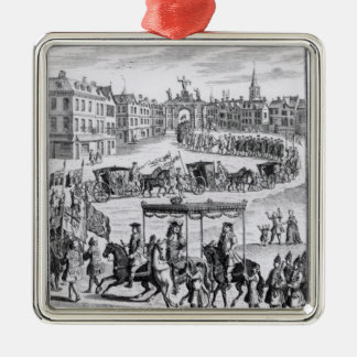 King Charles II Christmas Ornament