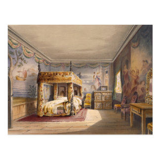 King Charles Room, Cotehele House, c.1830-40, (col Postcard
