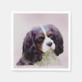 King Charles Spaniel Disposable Serviette