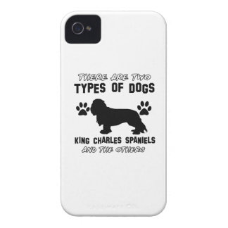 KING CHARLES SPANIEL dog breed designs iPhone 4 Case-Mate Case