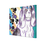 King Charles Spaniel Gallery Wrapped Canvas