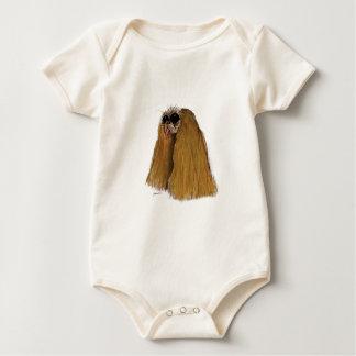 King Charles Spaniel, tony fernandes Baby Bodysuit
