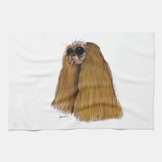 King Charles Spaniel, tony fernandes Tea Towel
