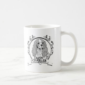 King Charles T-shirt Mugs