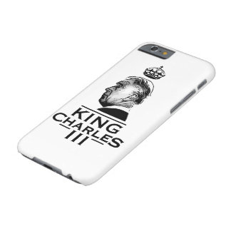 King Charles Third Barely There iPhone 6 Case