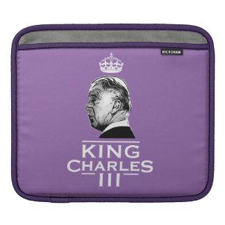 King Charles Third coronation iPad Sleeve