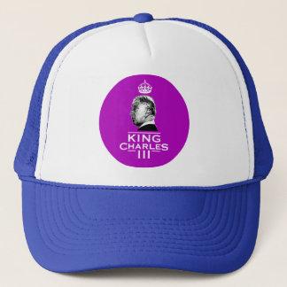 King Charles Third Coronation Trucker Hat