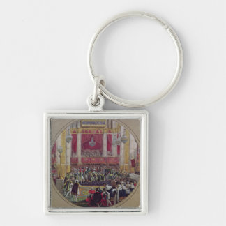 King Charles X  receiving the Knights Key Chain
