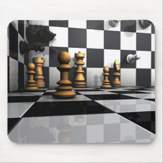 King Chess Play Mouse Mat