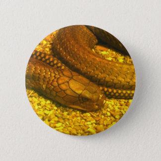 King Cobra 6 Cm Round Badge