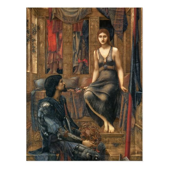 King Cophetua and the Beggar Maid Postcard
