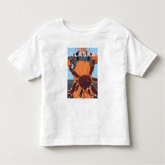 King Crab Fisherman - Juneau, Alaska Toddler T-Shirt