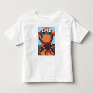 King Crab Fisherman - Katmai, Alaska Toddler T-Shirt