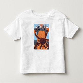 King Crab Fisherman - Latouche, Alaska Toddler T-Shirt