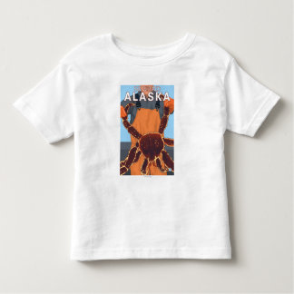 King Crab Fisherman - Seward, Alaska Toddler T-Shirt