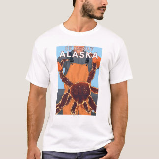 King Crab Fisherman - Skagway, Alaska T-Shirt