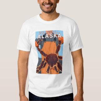 King Crab Fisherman - Wrangell, Alaska Tee Shirt