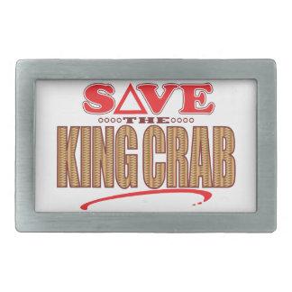 King Crab Save Belt Buckles