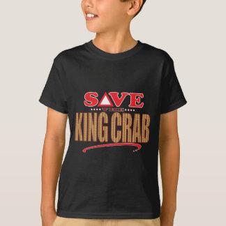 King Crab Save Tee Shirts