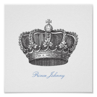 King Crown Poster