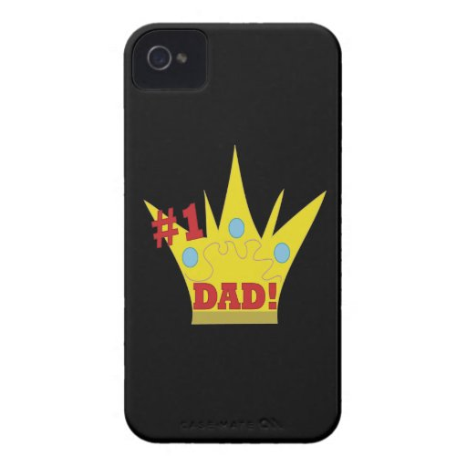 King Dad iPhone 4 Cover