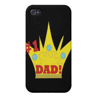 King Dad iPhone 4/4S Covers