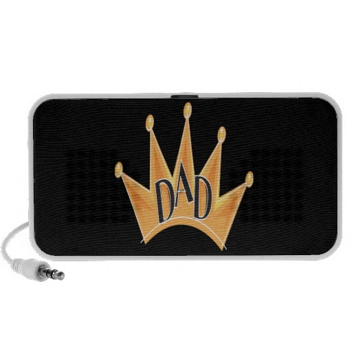 King Dad iPod Speakers