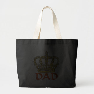 King Dad Jumbo Tote Bag