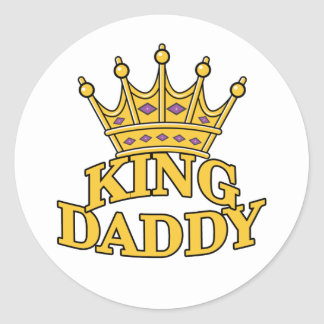 King Daddy Stickers