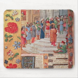 King David and Musicians, from the Breviary Mouse Mat