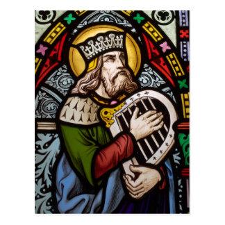 King David Postcard