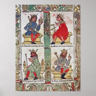 King David, Solomon, Luba and Turnis Poster