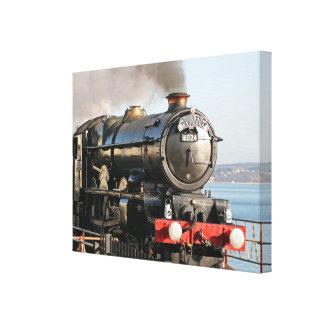 King Edward 1 Steam Engine Canvas Prints