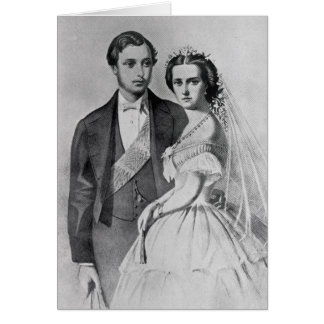 King Edward and Queen Alexandra Card