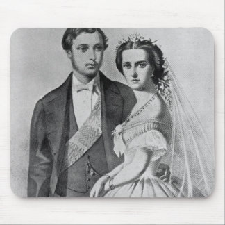 King Edward and Queen Alexandra Mouse Mat